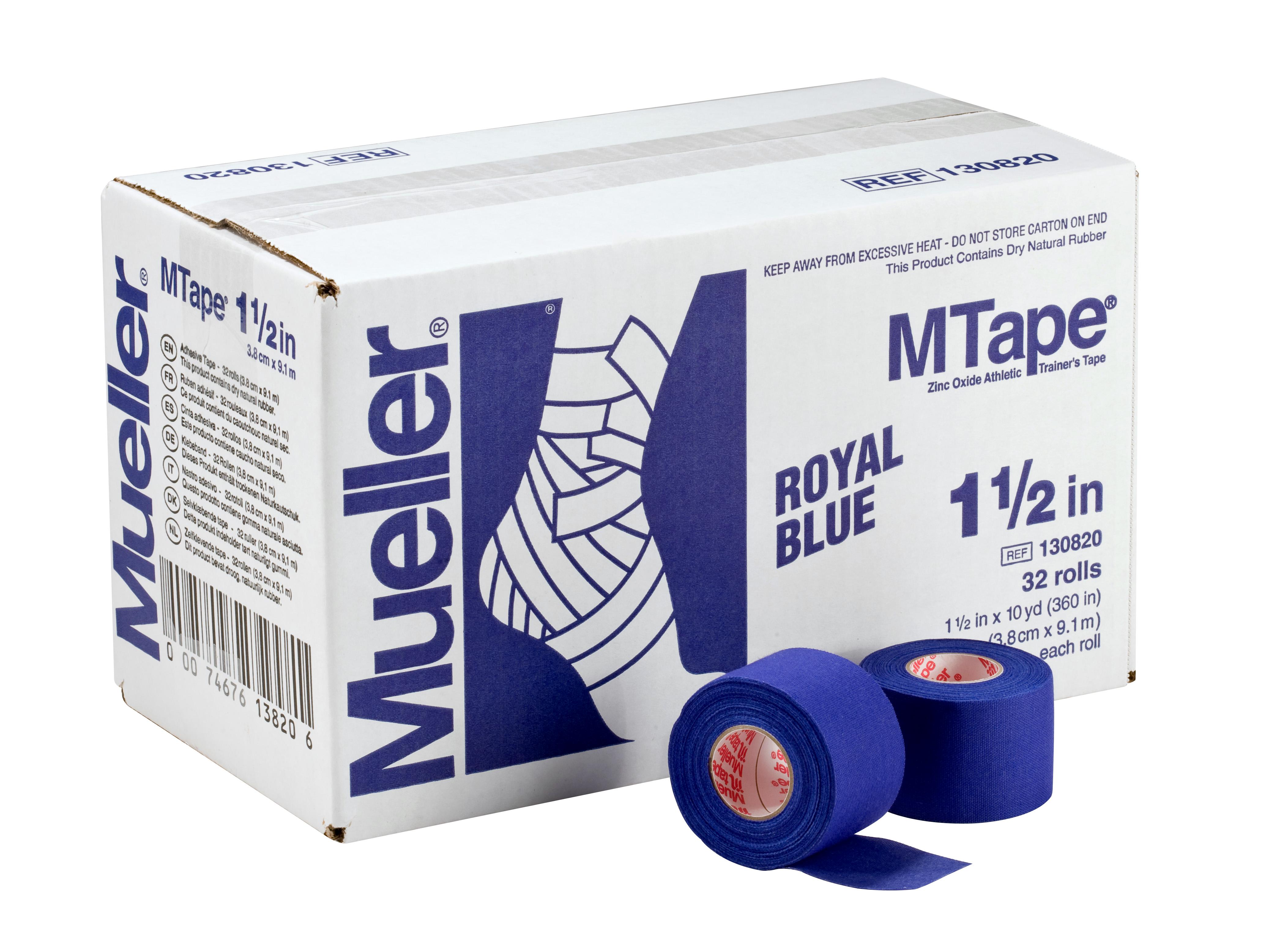 Mueller M-Tape 3,8cm - Blau 32 Rollen