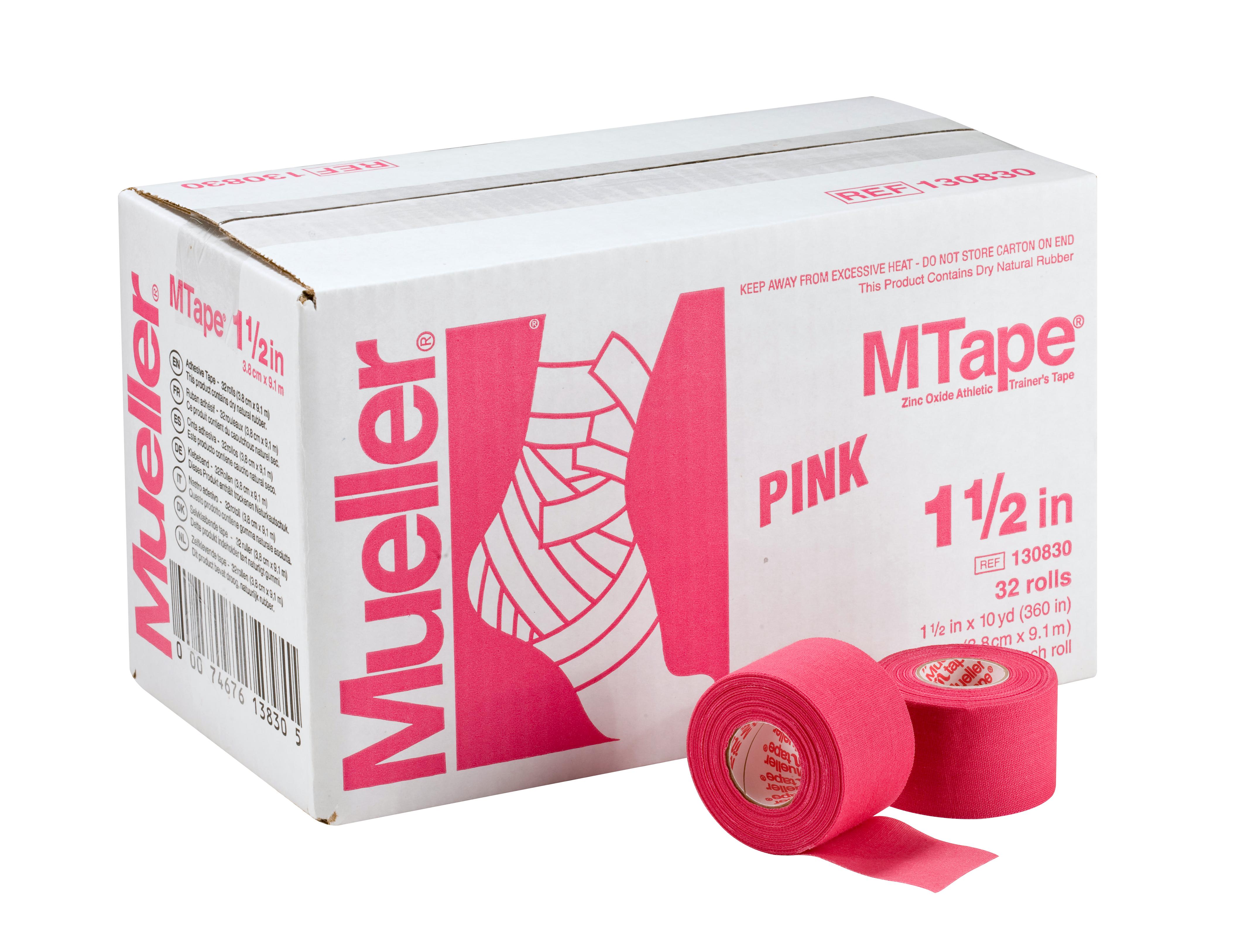 Mueller M-Tape 3,8cm - Pink 32 Rollen