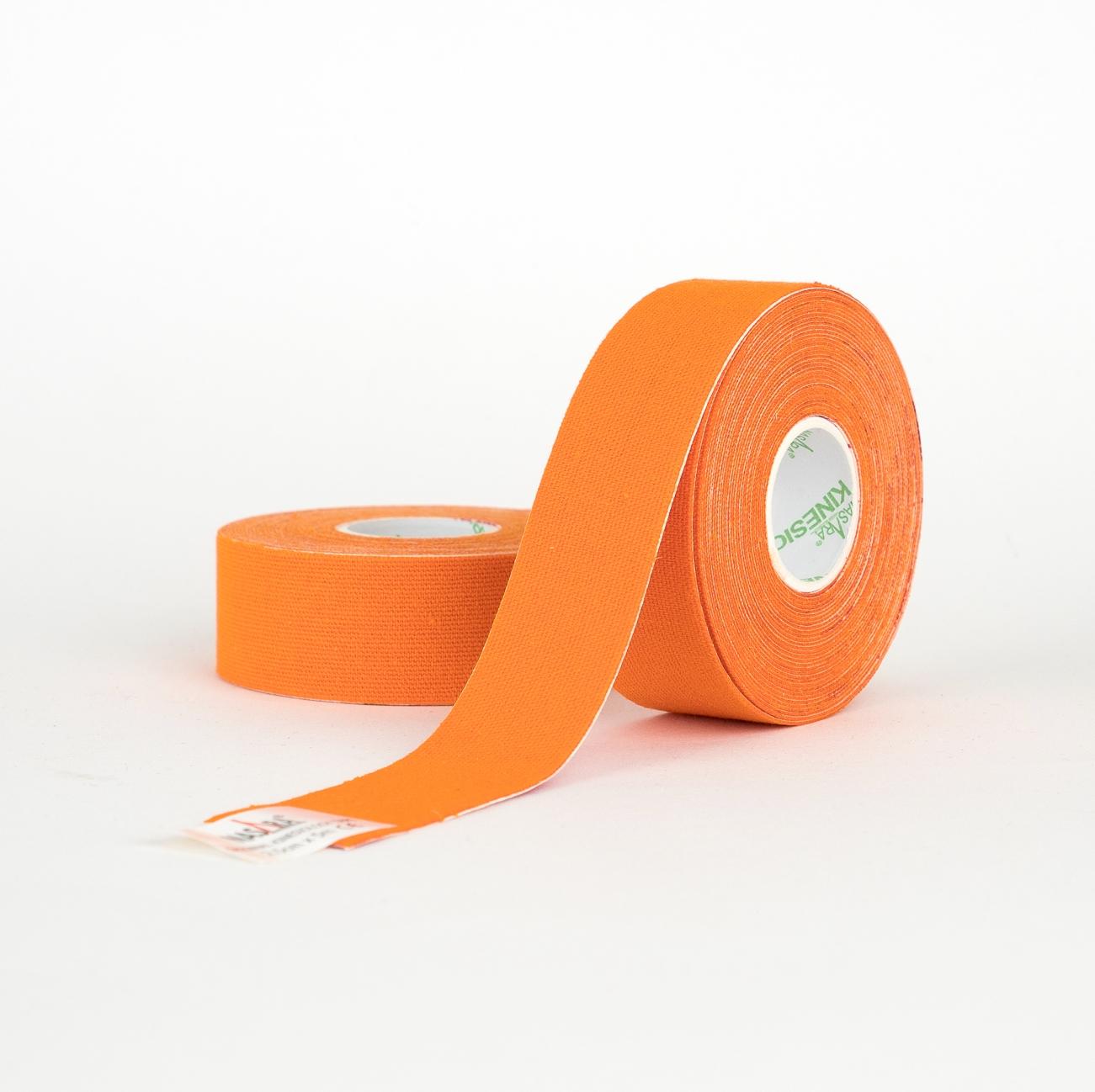 Nasara Kinesiologie-Tape 2,5cm x 5m - 2 Rollen