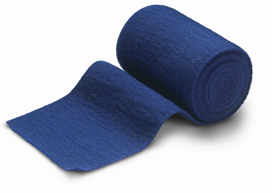 Mikros Elastex 8cm x 5m, blau