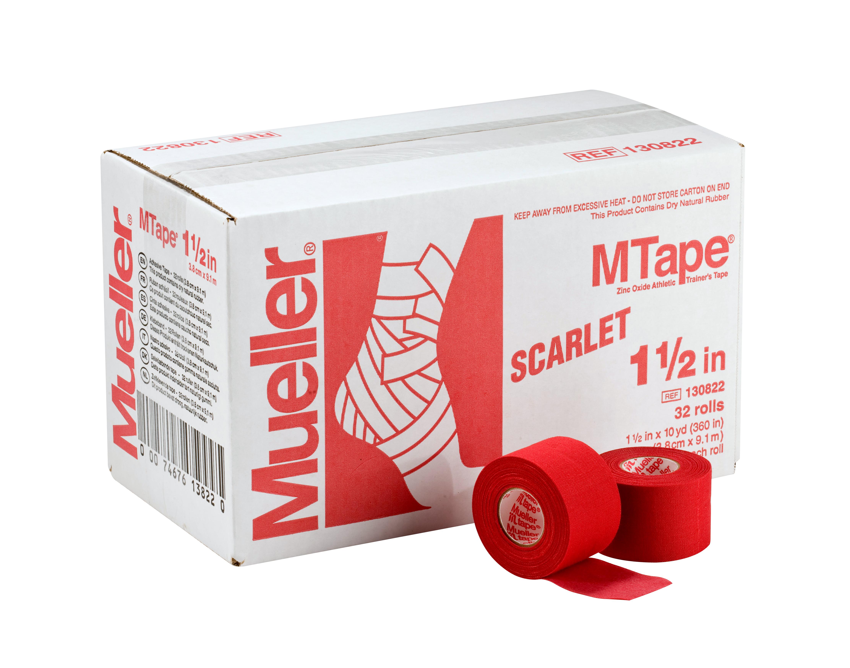 Mueller M-Tape 3,8cm - Rot 32 Rollen