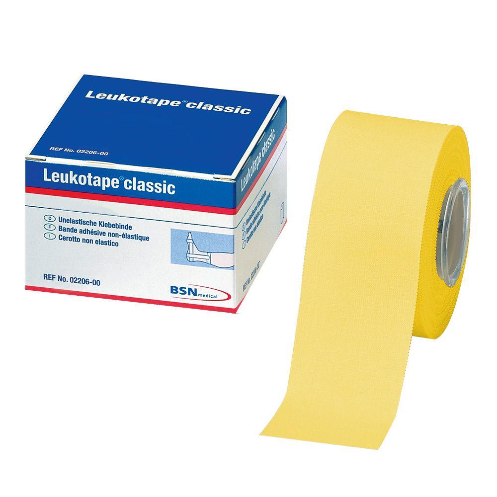 BSN Leukotape Einzelrolle - Gelb 3,75cm