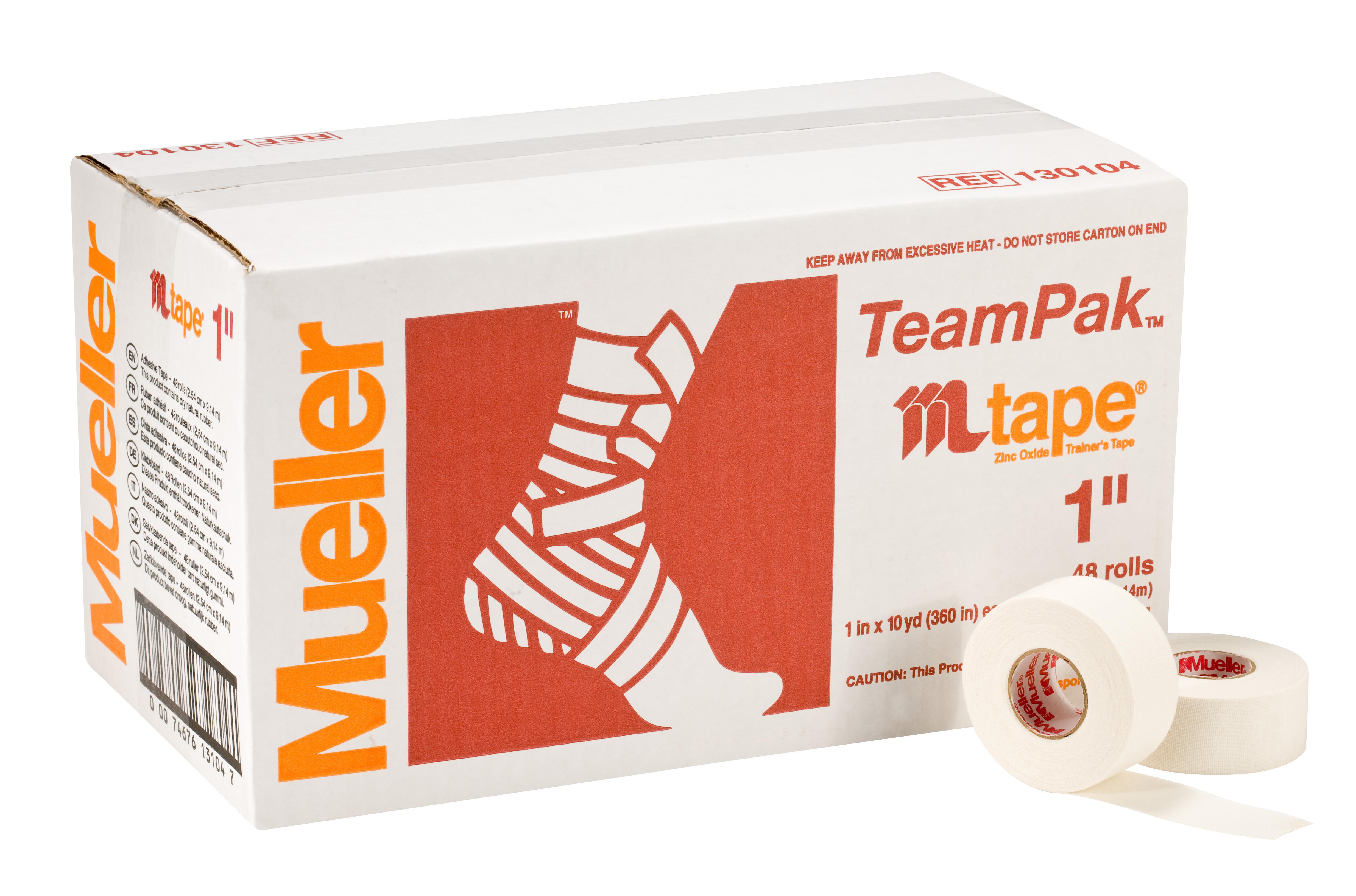 Mueller M-Tape weiß - 2,5cm 48 Rollen