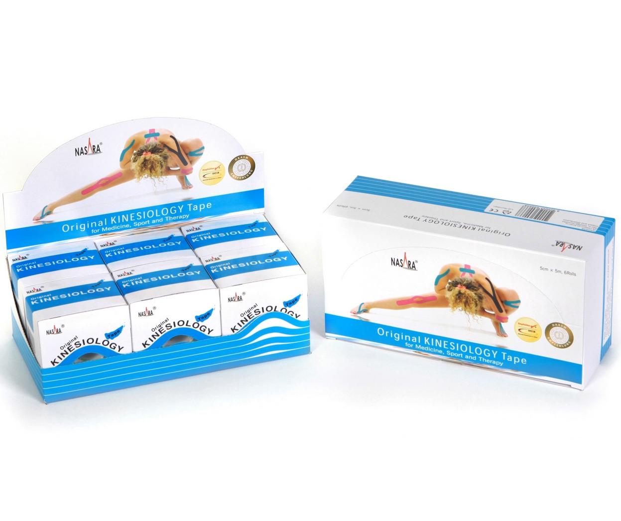 Nasara Kinesiology Tape 6er Box