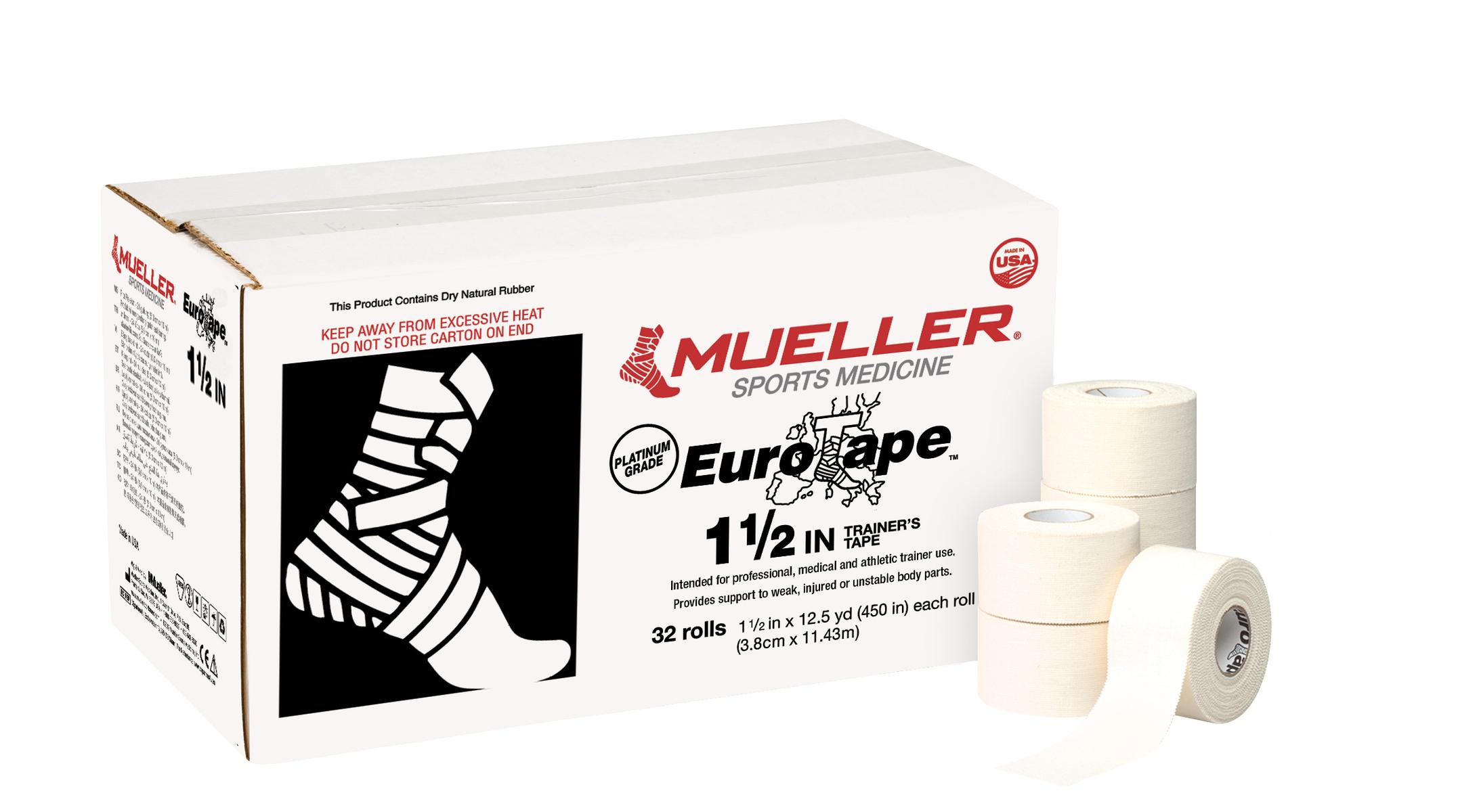Mueller Platinum Euro Tape - 3,8