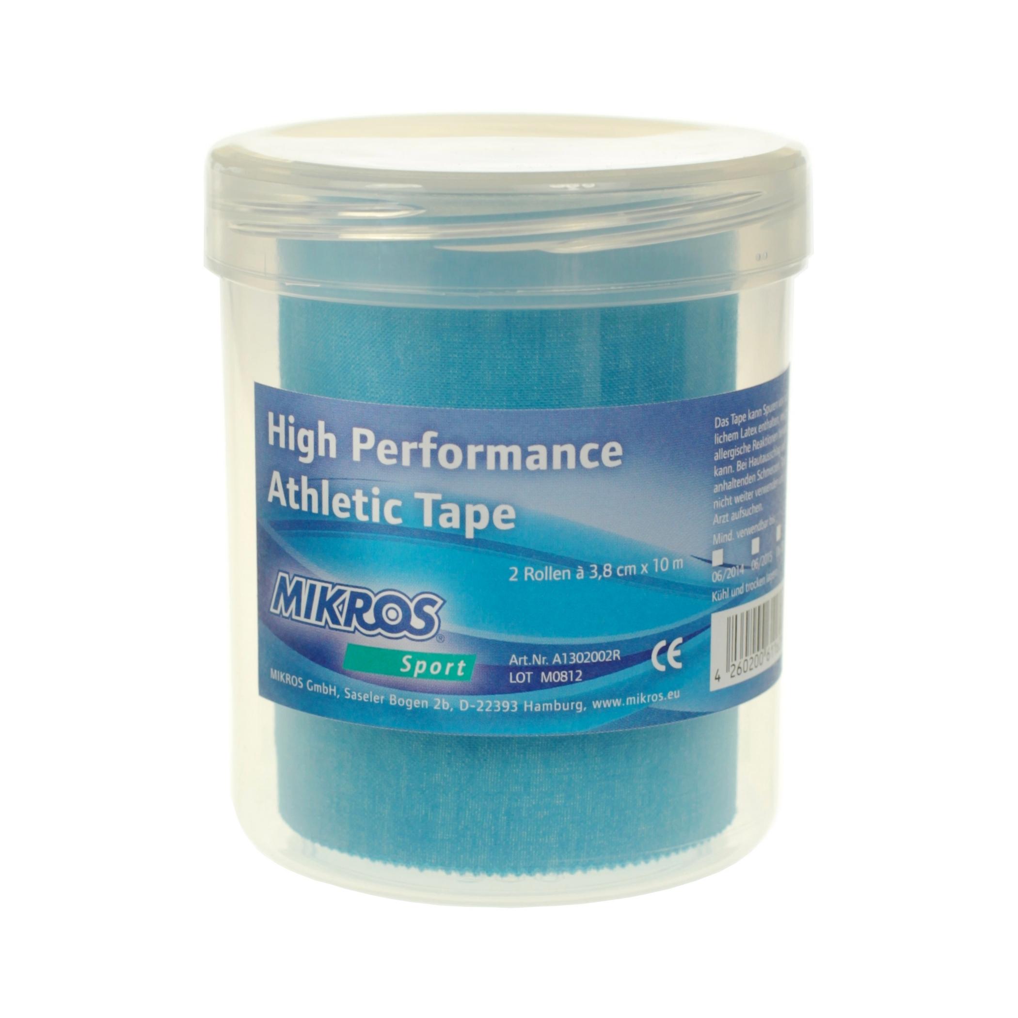 Mikros High Performance Tape - 2-Rollen-Box - Blau