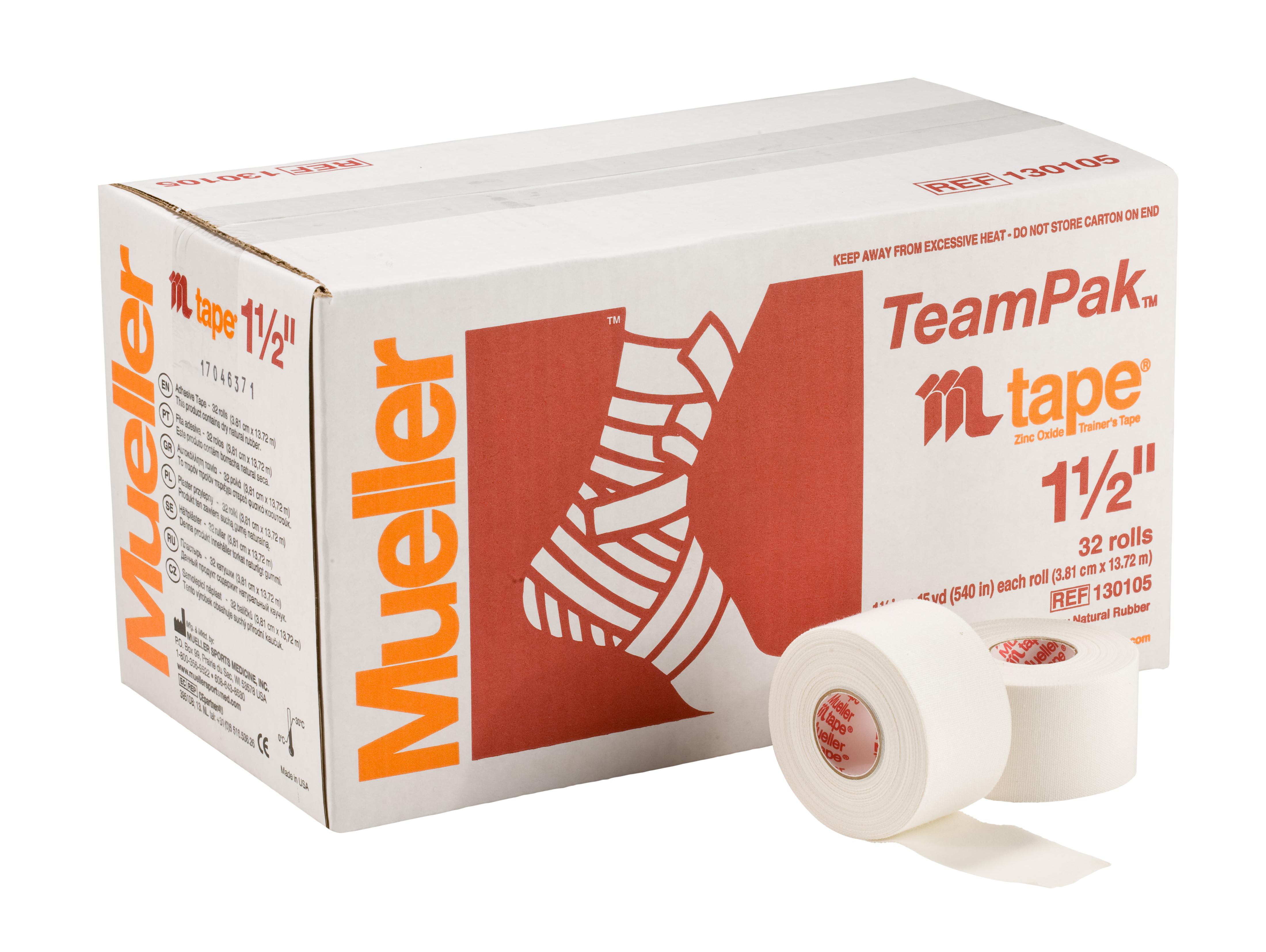 Mueller M-Tape weiß - 3,8cm 32 Rollen