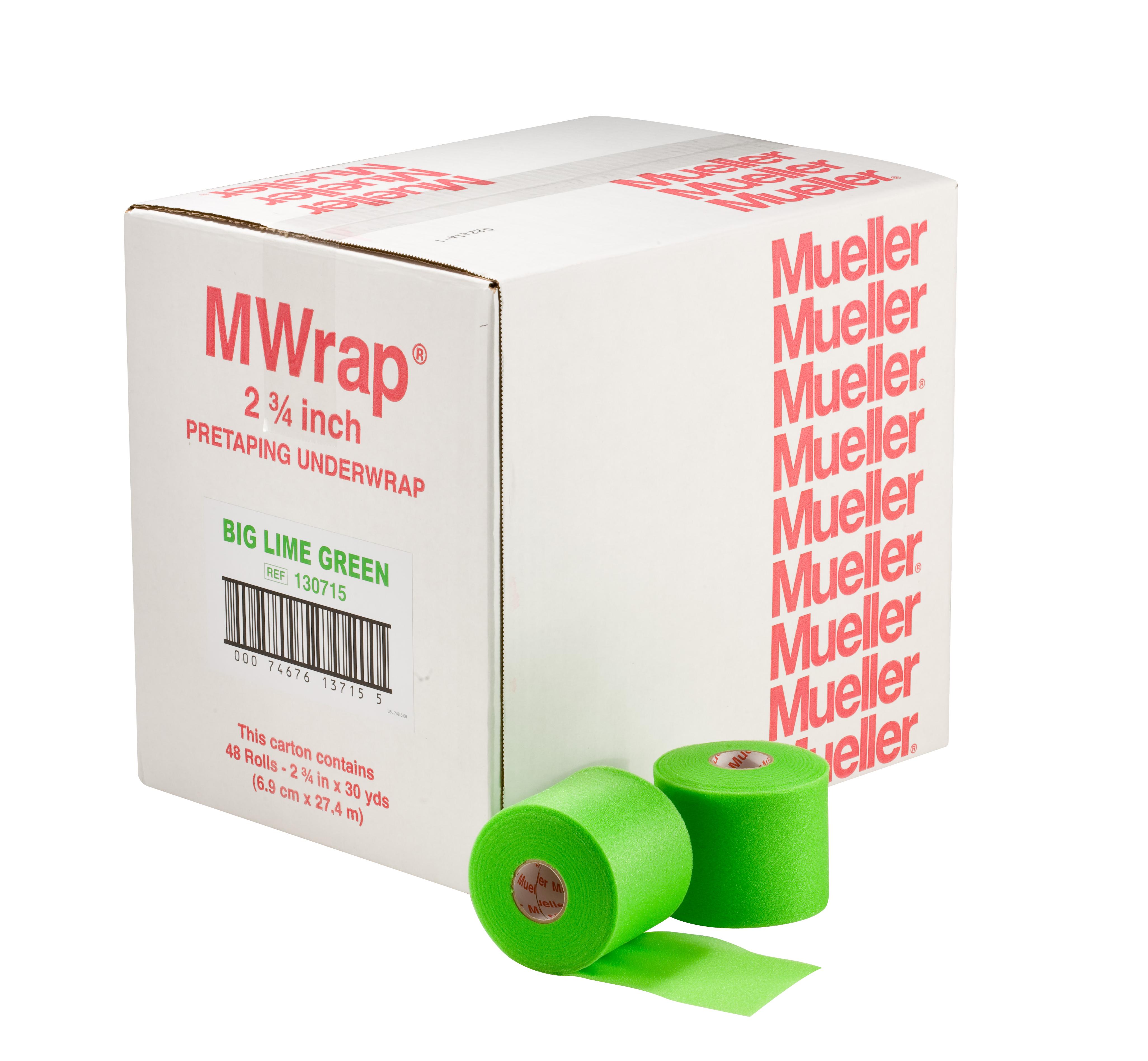 Mueller M-Wrap Tape-Unterzugbinde - Limone 48 Rollen