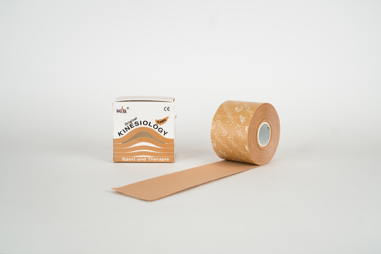 Nasara Kinesiology Tape 5cm x 5m - Beige